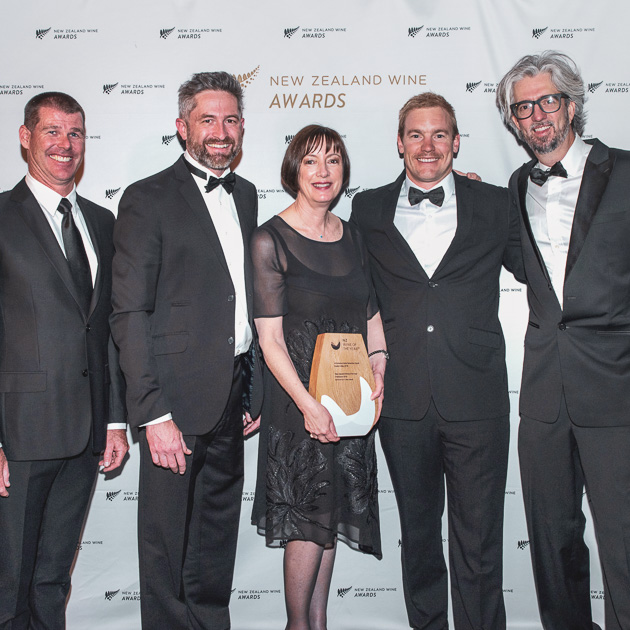 A group at the New Zealand Wine Awards