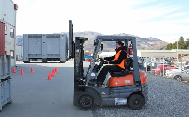 central otago competition forklift