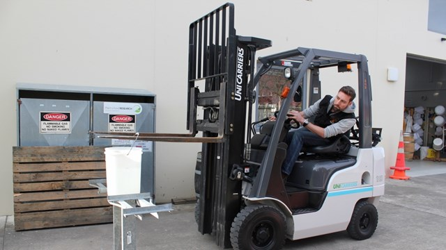 Marlborough 2019 Young Winemaker competition - Forklift skills