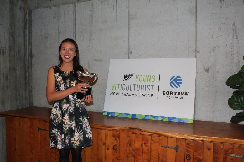 Courtney Sang - Winner of the Auckland/Northern Young Vit Competition