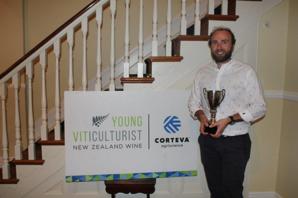 Sam Bain - Winner of the Hawke's Bay 2021 Young Vit Competition