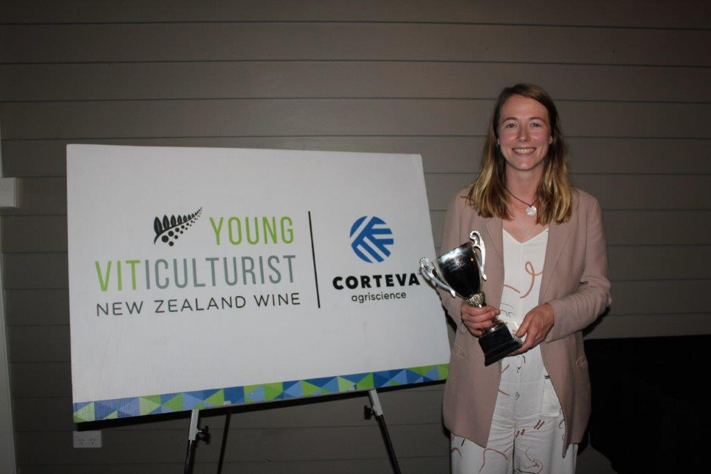 Albie Feary - Winner of the Young Vit Wairarapa competition